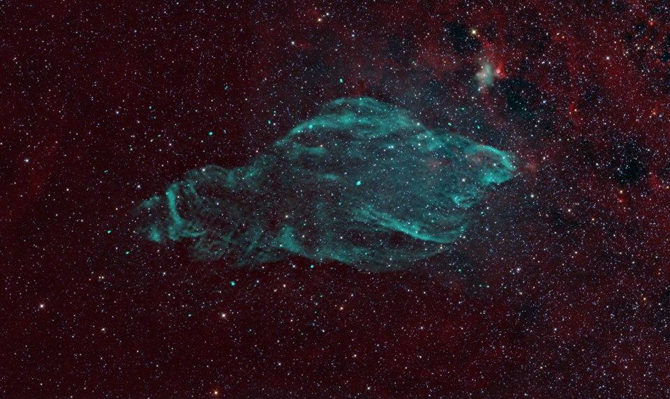 Supernova remnant nebula W50